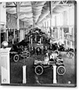 Automobile Display, 1904 Acrylic Print
