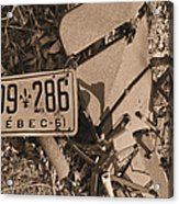 Automobile Graveyard Acrylic Print