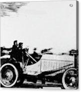 Automobile Racing, 1905 Acrylic Print