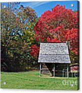 Autum For A Mountain Home Acrylic Print