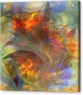 Autumn Ablaze - Square Version Acrylic Print
