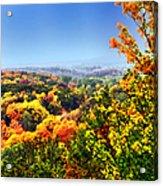 Autumn Across The Hills Acrylic Print