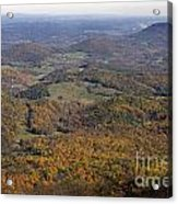 Autumn Across The Shenandoah Acrylic Print