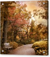Autumn Aesthetic Acrylic Print
