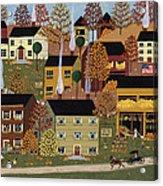 Autumn Afternoon Acrylic Print by Medana Gabbard