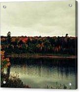 Autumn At Deer Lake Acrylic Print