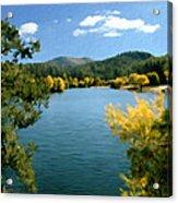 Autumn At Lynx Lake Acrylic Print by Kurt Van Wagner