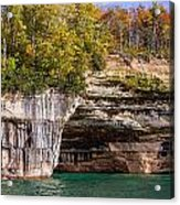 Autumn At Pictured Rocks Acrylic Print