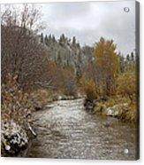 Autumn At Prickly Pear Creek Acrylic Print