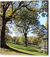 Autumn At Runnymede Uk Acrylic Print