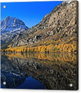 Autumn At Silver Lake Acrylic Print