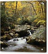 Autumn At Stony Creek Acrylic Print