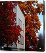 Autumn At The Grants Pass Courthouse Acrylic Print