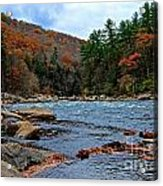 Autumn At The Youghiogheny Acrylic Print