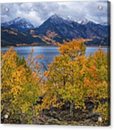 Autumn At Twin Lakes Acrylic Print