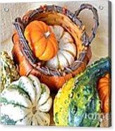 Autumn Basketful Acrylic Print