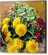 Autumn Boquet I Acrylic Print