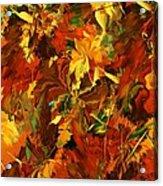 Autumn Burst Acrylic Print