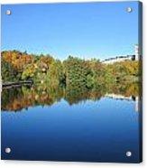 Autumn By The Lake 3 Acrylic Print
