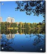 Autumn By The Lake 6 Acrylic Print