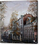 Autumn Came To The City. Acrylic Print
