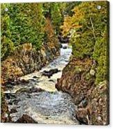 Autumn Channel Acrylic Print