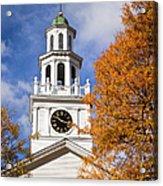 Autumn Church Acrylic Print