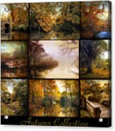 Autumn Collage Acrylic Print