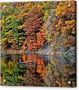 Autumn Colors Reflect Acrylic Print