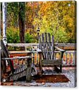 Autumn Day Acrylic Print