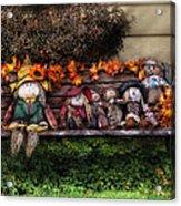 Autumn - Family Reunion Acrylic Print