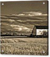 Autumn Farm II Acrylic Print