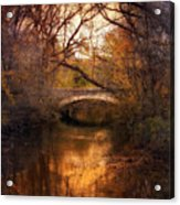 Autumn Finale Acrylic Print