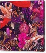 Autumn Flower Bouquet Acrylic Print