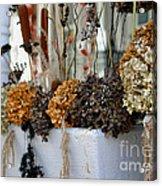 Autumn Flower Box Acrylic Print