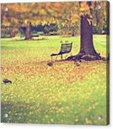 Autumn Gardens Acrylic Print