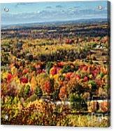 Autumn Glory Landscape Acrylic Print