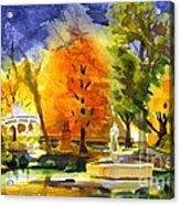 Autumn Gold 2 Acrylic Print