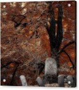 Autumn Graveyard Acrylic Print