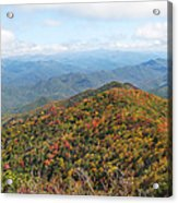 Autumn Great Smoky Mountains Acrylic Print