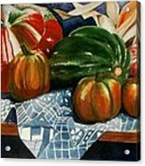 Autumn Harvest Acrylic Print by Eve Riser Roberts