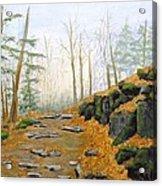 Autumn Hike Acrylic Print