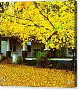 Autumn Homestead Acrylic Print