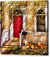 Autumn - House - A Hint Of Autumn  Acrylic Print
