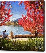 Autumn in Canberra Acrylic Print