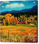Autumn In Colorado Acrylic Print
