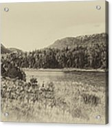Autumn In Montana In Heirloom Finish Acrylic Print