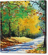 Autumn In Mt Wilson Acrylic Print by Graham Gercken