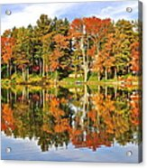 Autumn In Ohio Acrylic Print