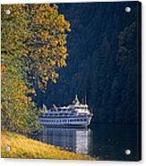 Autumn In Princess Louisa Inlet Acrylic Print